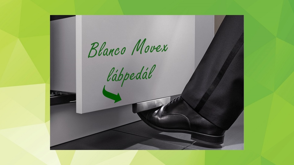 Blanco Movex lábpedál